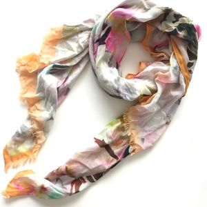 Ted Baker London Floral Scarf Shawl Wrap large